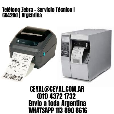 Teléfono Zebra - Servicio Técnico | GX420d | Argentina