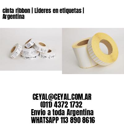 cinta ribbon | Líderes en etiquetas | Argentina