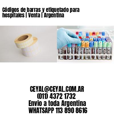 Códigos de barras y etiquetado para hospitales | Venta | Argentina