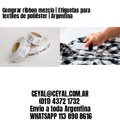Comprar ribbon mezcla | Etiquetas para textiles de poliéster | Argentina