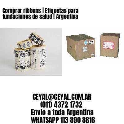 Comprar ribbons | Etiquetas para fundaciones de salud | Argentina