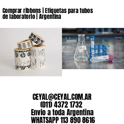 Comprar ribbons | Etiquetas para tubos de laboratorio | Argentina