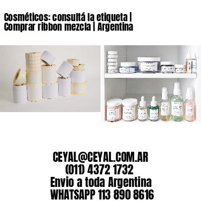 Cosméticos: consultá la etiqueta | Comprar ribbon mezcla | Argentina