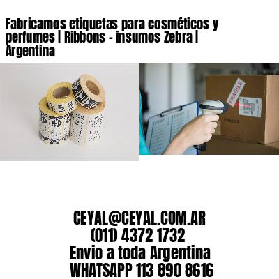 Fabricamos etiquetas para cosméticos y perfumes | Ribbons - insumos Zebra | Argentina