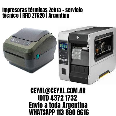 Impresoras térmicas Zebra - servicio técnico | RFID ZT620 | Argentina