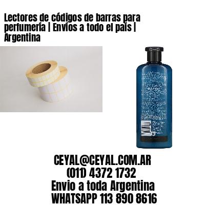 Lectores de códigos de barras para perfumería   Envíos a todo el país   Argentina