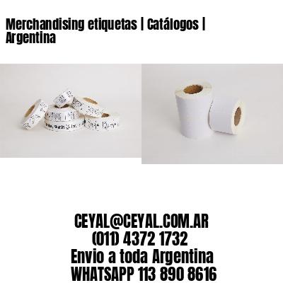 Merchandising etiquetas | Catálogos | Argentina