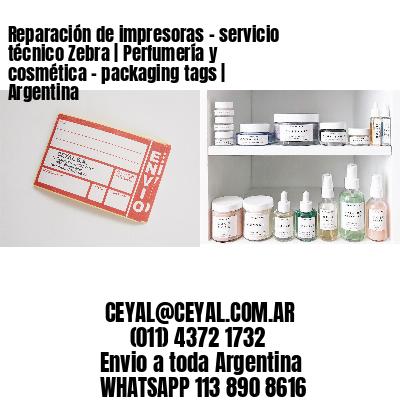 Reparación de impresoras - servicio técnico Zebra | Perfumería y cosmética – packaging tags | Argentina
