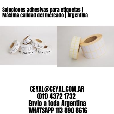 Soluciones adhesivas para etiquetas | Máxima calidad del mercado | Argentina