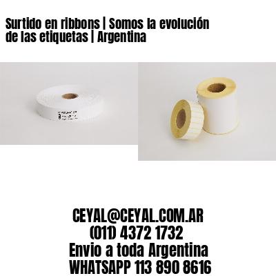 Surtido en ribbons | Somos la evolución de las etiquetas | Argentina