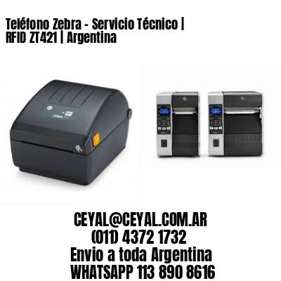 Teléfono Zebra - Servicio Técnico | RFID ZT421 | Argentina